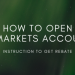 How to open a rebate trading account at IC markets.
